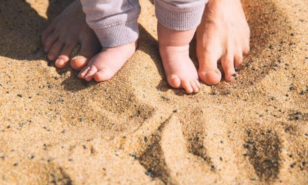 Rozvoj detských nôh