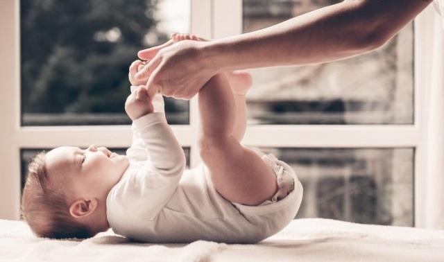 Vojtova terapia s dieťatkom