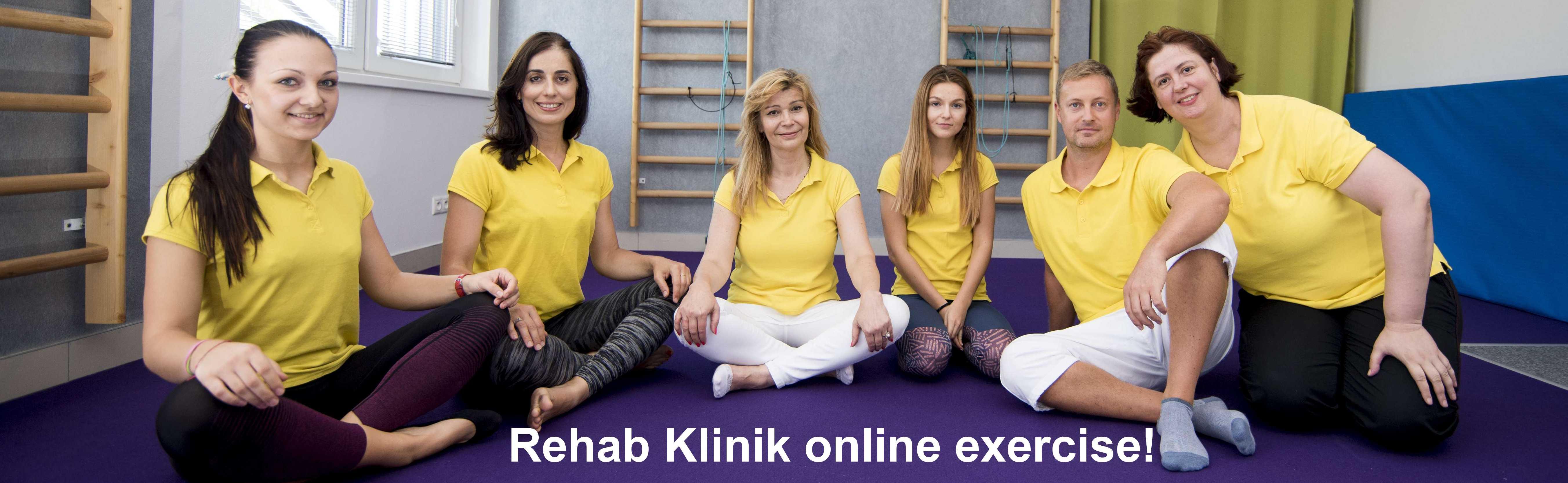 Online cvicenie s fyzioterapeutom