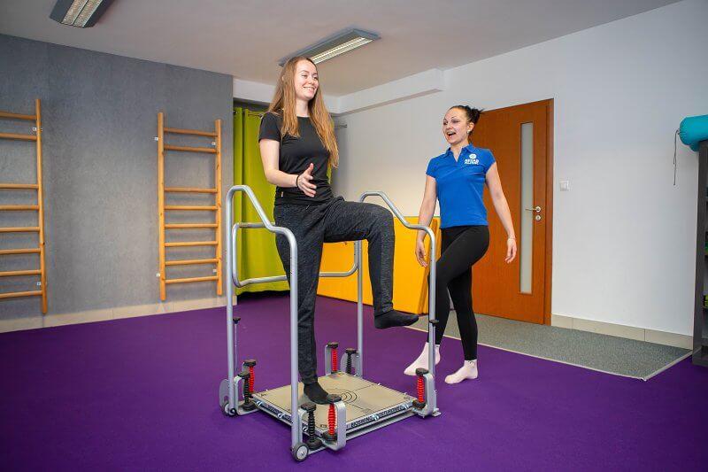 artroskopia - rehabilitačné cvičenia